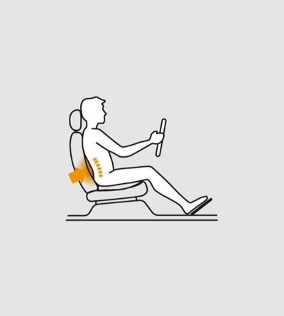 Cuscino lombare auto : per mal di schiena, lombaggine o..